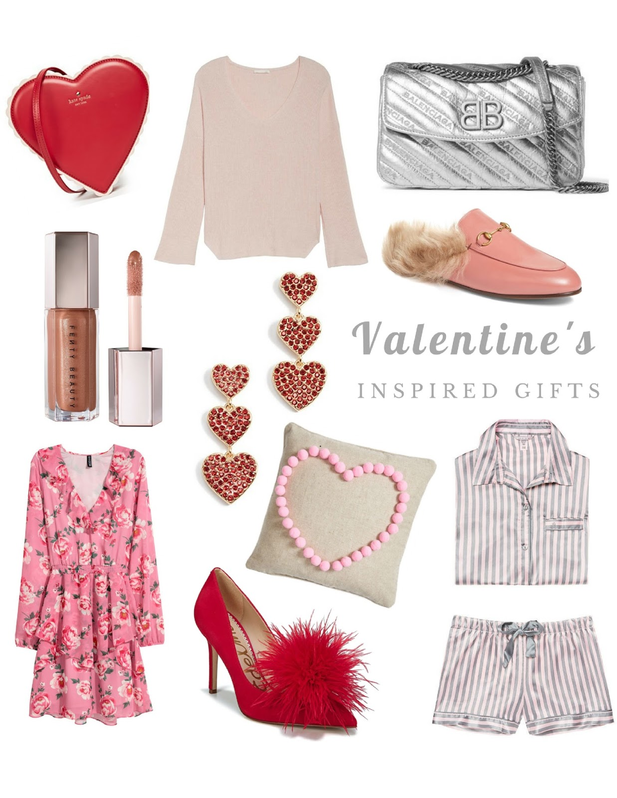 Gifts for valentine's day.