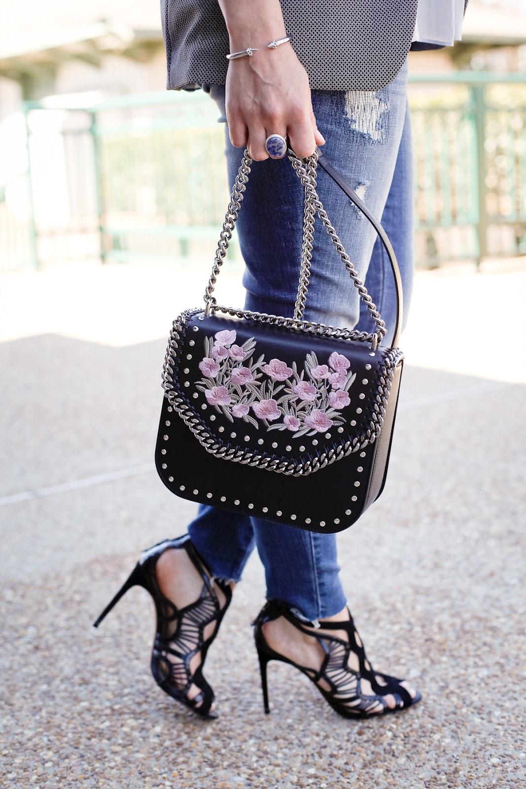 Stella McCartney floral box bag