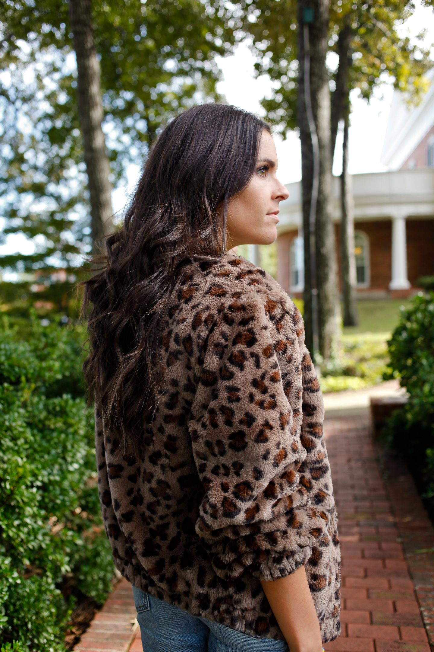 Leopard print as a neutral