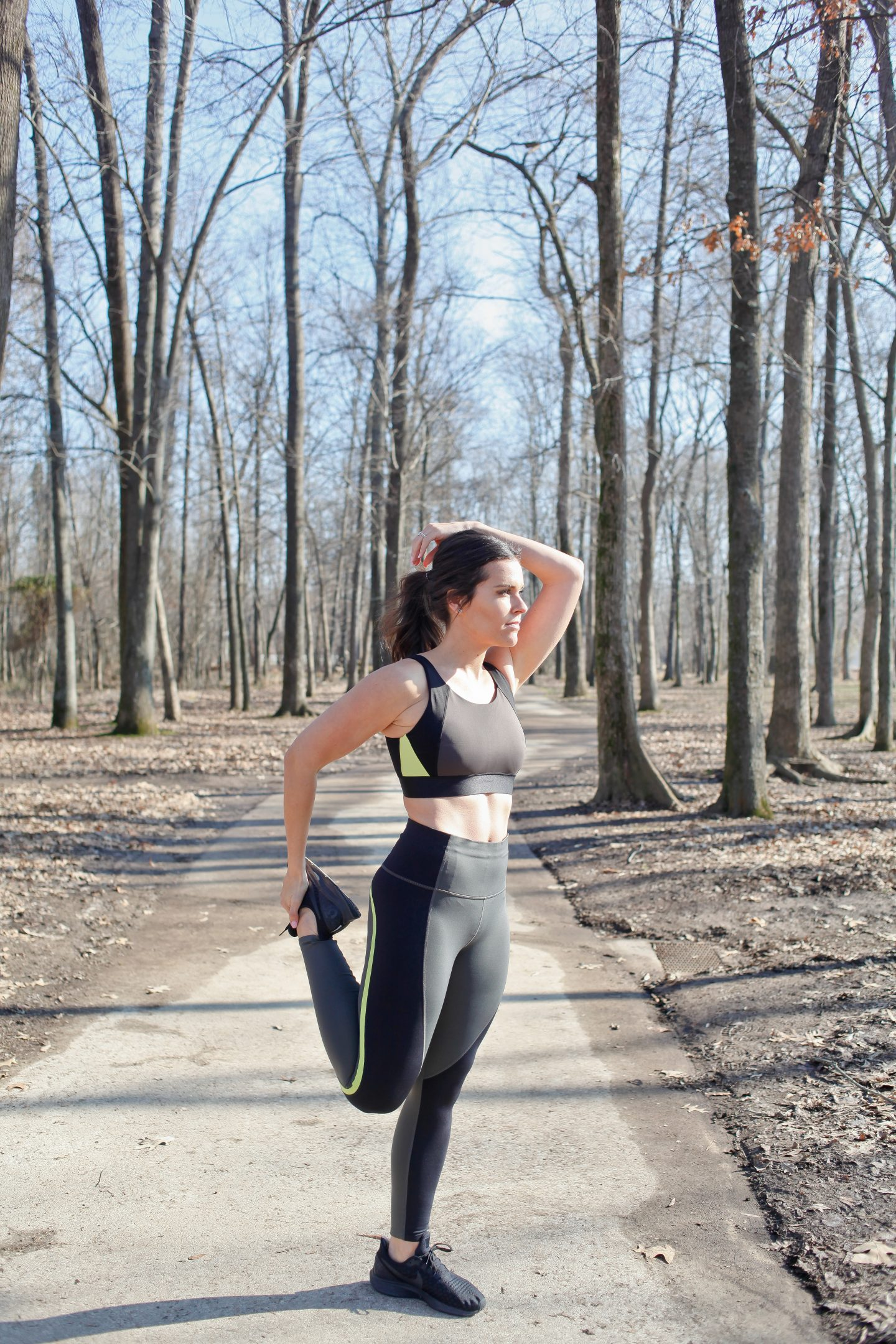 fitness blogger athleta running clothes