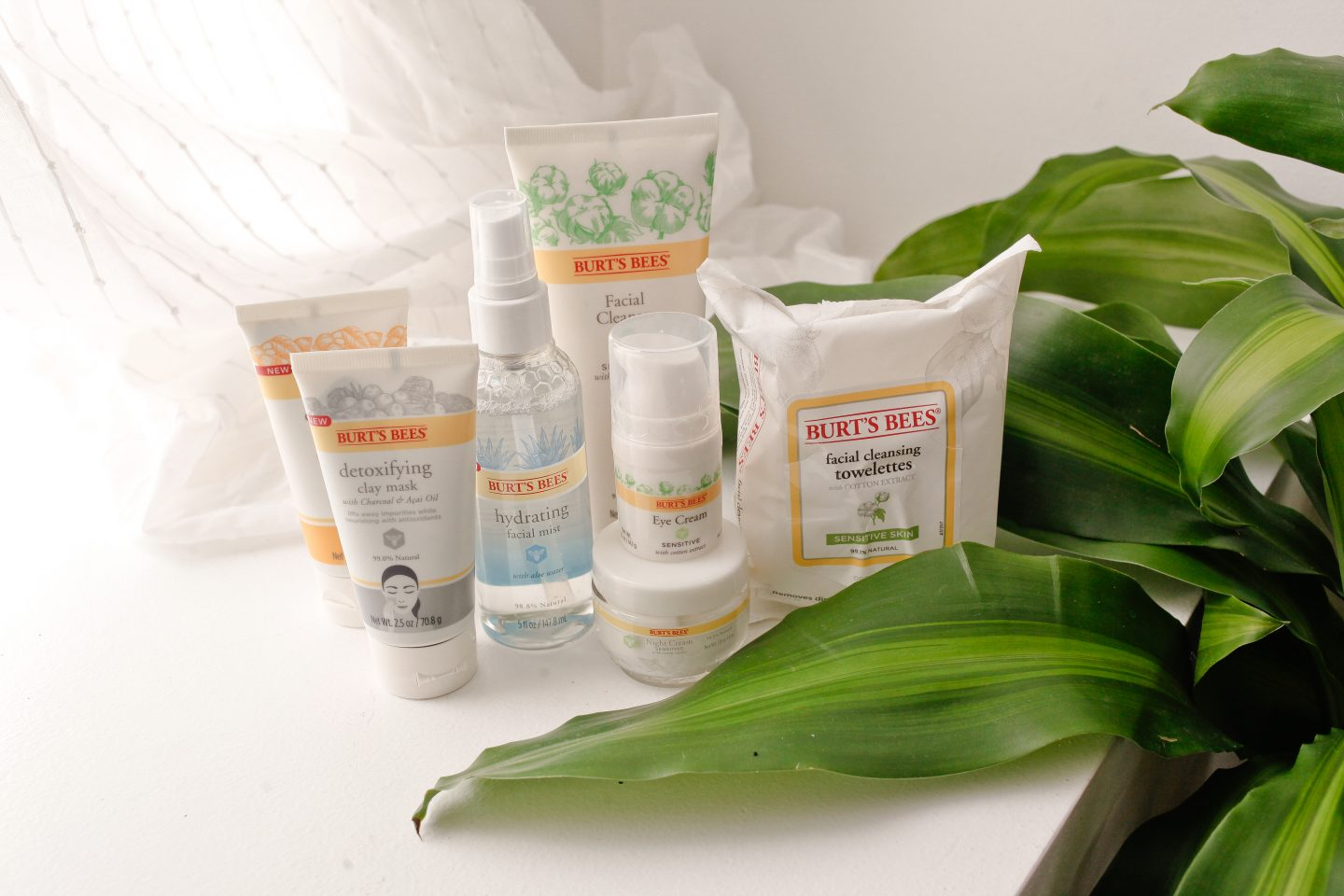 burt's bees sensitive skin products