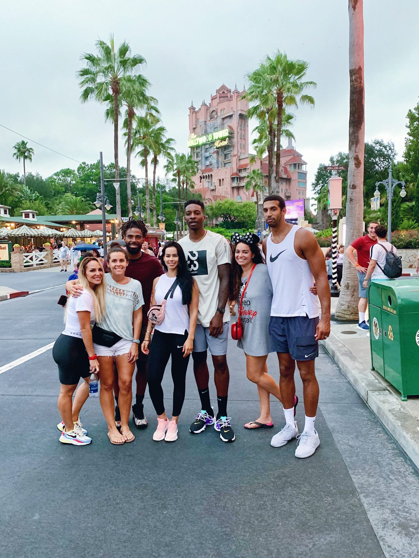 NBA playes hollywood studios