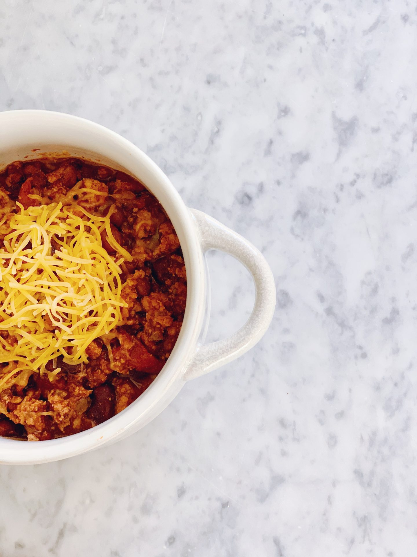 perfect turkey chili