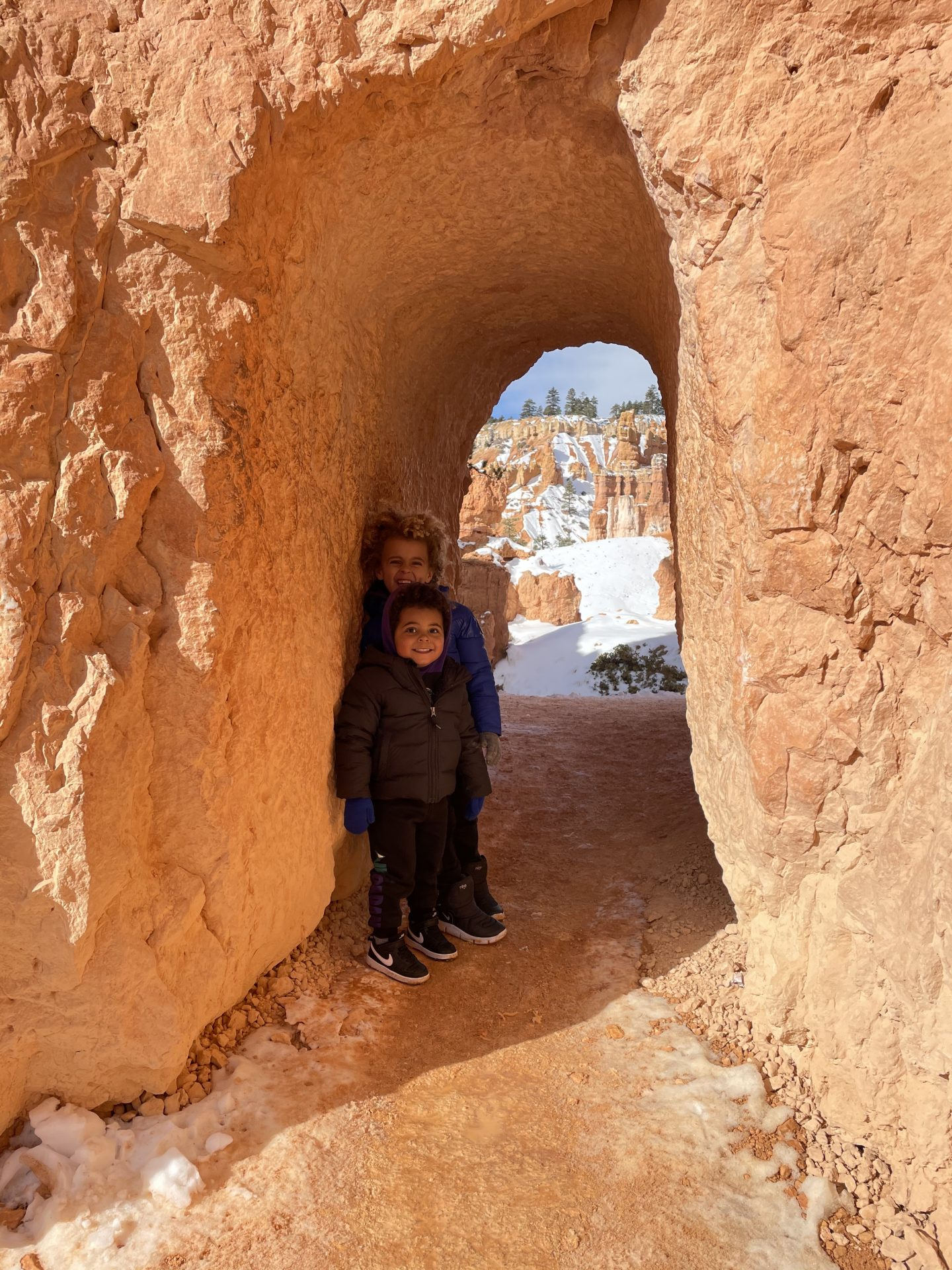 Bryce Canyon hike toddler style