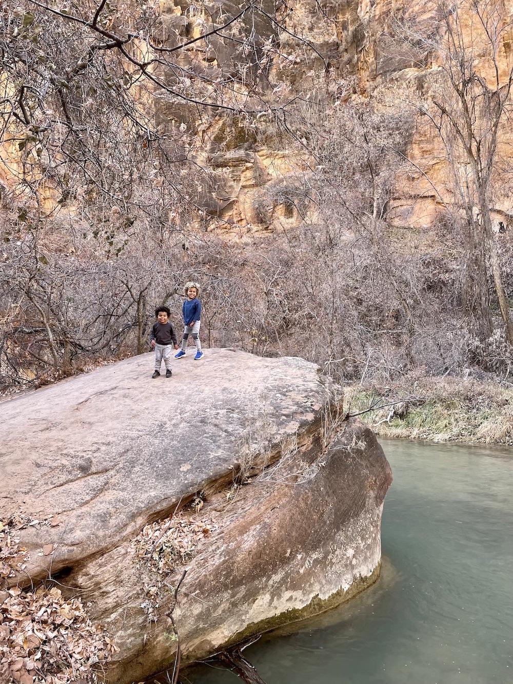 riverside walk Zion national park
